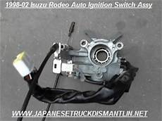electric power steering 1997 isuzu rodeo electronic throttle control isuzu rodeo ignition switch assembly 1998 1999 2000 2001