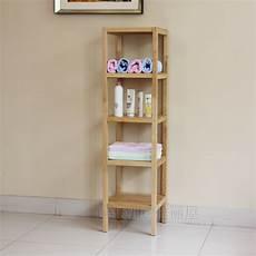 Clapboard Wood Shelving Storage Rack Shelf Bathroom Shelf