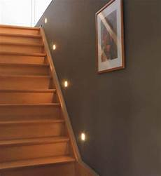 led spots treppe recessed led lights above the stairs safety and