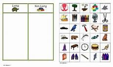 sorting living things worksheets 7894 learning inspiration worksheet for living things and non living things