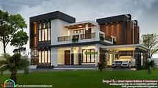 modern house plans in kerala 2423 square feet 4 bhk contemporary home plan kerala