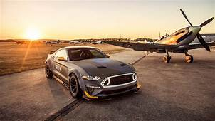 Wallpaper Ford Eagle Squadron Mustang GT Sunset 2018 4K