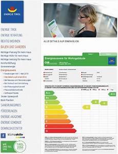 Einteilung A Bis G Energieausweis Tirol
