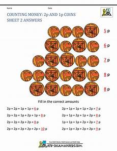 money worksheets to 10p 2342 free counting money worksheets uk coins