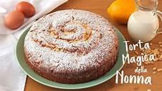 torta con crema pasticcera di benedetta torta magica della nonna con crema pasticcera grandma s magic cake lorenzo in cucina youtube