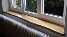 Fensterbänke Aus Holz - holz fensterb 228 nke mit naturkante eiche miro wohndesign