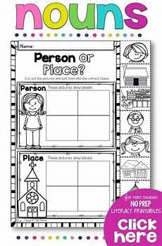 nouns no prep printables all things first grade teaching nouns nouns kindergarten nouns