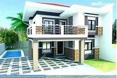 low cost simple two storey house design philippines design simple low cost budget small home in 2020 simple