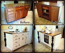 Kitchen Island Add On Ideas by Easy Fix To Get New Counter Top And Add Legs Diy Kitchen