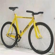 jual sepeda fixie litus bike di lapak litus bike erick litus