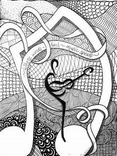 Mandala Malvorlagen Musik Pin Auf Musik Noten