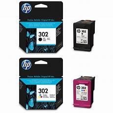 Hp 302 Pack De 2 Cartouches 1 Cartouche D Encre Trois