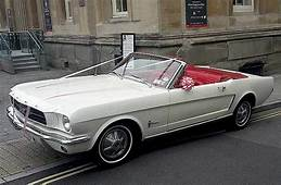1965 Ford Mustang Convertible  American Wedding Cars