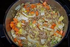 Eintopf Mit Hackfleisch - chinakohl eintopf mit hackfleisch im schnellkochtopf