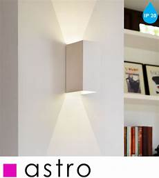 astro parma 160 led ip20 2700k wall light white finish 7598 from easy lighting