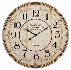 60cm large wooden wall clock vintage retro antique