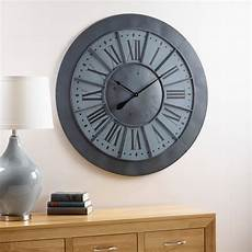 herald wall clock by oak furniture land