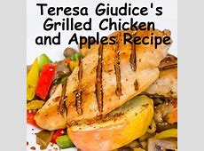 Grilled Chicken and Apples With Rosemary image