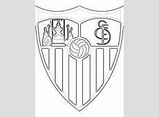 Logo del Sevilla Fútbol Club   Dibujos para colorear