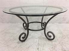 wrought iron coffee tables with glass top wrought iron glass top coffee table