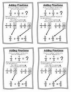 fractions operations cheat sheets reference sheets by
