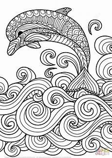 Kostenlose Malvorlagen Tiere Leveln Delfin Bilder Zum Ausmalen Mandala Ausmalen Malvorlagen