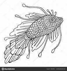 Malvorlage Fisch Mit Schuppen Ausmalbild Fisch Mit Schuppen
