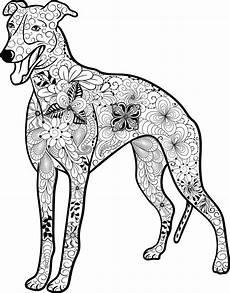Ausmalbilder Hunde Und Welpen Kostenloses Ausmalbild Hund Galgo Die Gratis Mandala