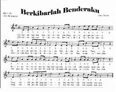 Not Angka Lagu Nasional