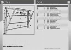 dimension porte de garage basculante dimensions standard porte de garage basculante bois eco
