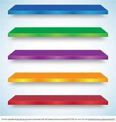 mensola colorata mensola luminosa colorata vettore scaricare vettori gratis