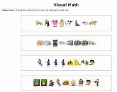 visual algebra worksheets 8622 visual math worksheets maker sle identifying differences