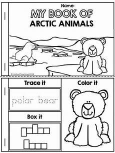 arctic animals worksheets for preschool 14127 321 best winter at school images on winter preschool and school