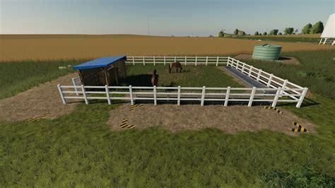 Fs19 Horse Paddock Mod