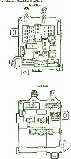 car maintenance manuals 1999 toyota corolla interior lighting 1999 toyota corolla ce fuse box diagram circuit wiring diagrams