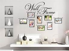 Wandtattoo Wall Of Fame Mit Fotorahmen Wandtattoo De