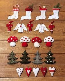 Des Sujets De No 235 L En Tissus Color 233 S Decoration Noel
