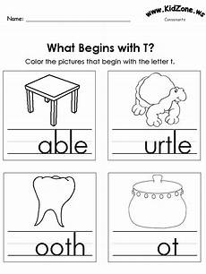 writing letter t worksheets for kindergarten 23551 kindergarten consonant activity pages learning activities kindergarten worksheets