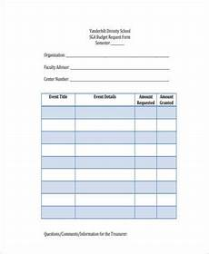 free 8 sle school budget forms in word pdf