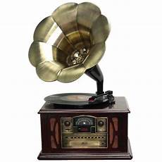 1305 Record Player Antique Gramophone Turntable by Back To The 50 S Executive Antique Trumpet Horn Turntable