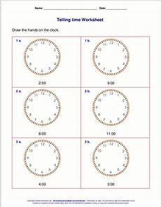 telling time free worksheets for grade 1 3566 telling time worksheets for 1st grade
