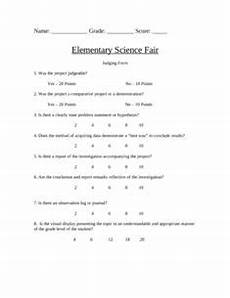 here s a science fair rubric for use in upper elementary