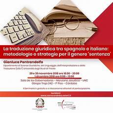 consolato spagnolo italia seminario di traduzione la traduzione giuridica tra