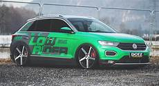 Slammed Vw T Roc Is Transformed From Crossover To
