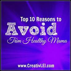 Trim Healthy Mama Food Chart 10 Reasons To Avoid Trim Healthy Mama Creativlei