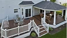 decks with roofs covered deck builder amazing decks