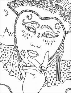 Fasching Malvorlagen Kostenlos Carnival Free To Color For Children Carnival