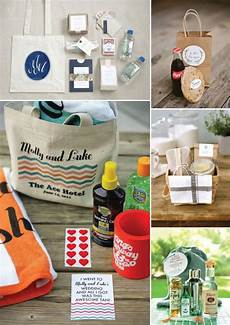 8 ideas for welcome bags destination wedding welcome bag