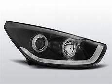 hyundai tucson led scheinwerfer nachrüsten hyundai tucson ix35 10 13 schwarz light scheinwerfer