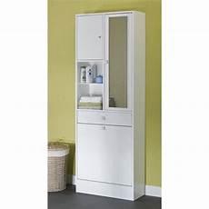 galet armoire de toilette l 60 cm blanc achat vente